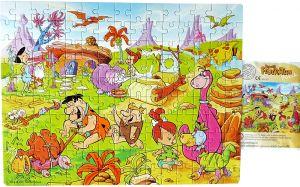 Maxi Ei Puzzle von Feuerstein mit Beipackzettel, 150 Teile