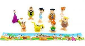 Figurenset von Fred Feuerstein mit Beipackzettel (Firma Sweets und Candy)