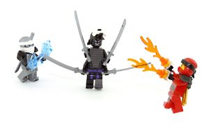 Lord Garmadon im Kampf gegen Feuer und Eis - Ninjago (KAI und ZANE)