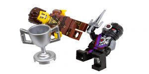 LEGO NINJAGO Dareth vs. Nindroid Exklusivset im Polybag [Nummer 5002144]