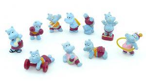 Happy Hippo Fitness Figurensatz Europa