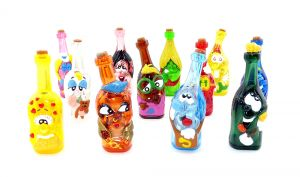 Gli Sbottigliati, 12 coole Flaschen aus Italien (Doremilla - Brioss)