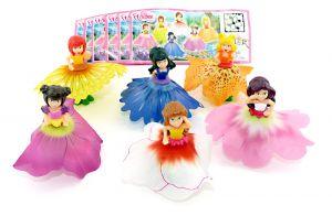 Satz Disney Prinzessin - Flowee mit allen Beipackzettel (Satz aus Deutschland)