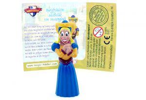 Burgfräulein mit Beipackzettel (Das Königliche Turnier - Funny Castle)