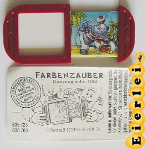 Farbenzauber Freddy Flaute mit BPZ