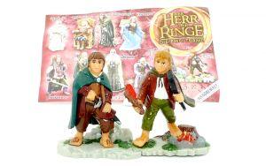 Frodo und Sam von Herr der Ringe Teil 2