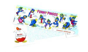 Beipackzettel von der Serie FUNNY PINGOS