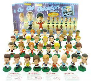 36 Fußballer Figuren von 2003 - 2004. Calciatori von der Firma Panini