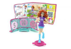 FUSSBALLERIN mit Zettel EN410A (Die Barbie Traumberufe)