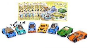 Future Cars von 2006. Komplett mit allen 7 Beipackzetteln und Aufklebern