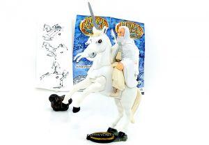 Gandalf und Schattenfell als Ü-Ei Figur von Der Herr der Ringe