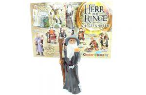 Gandalf der Zauberer mit Beipackzettel (Herr der Ringe 1)