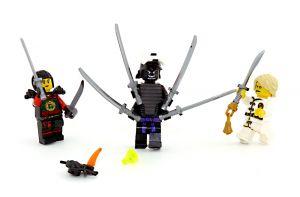 Lord Garmadon im Kampf gegen Lloyd und NYA und die Spinne