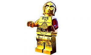 LEGO Star C - 3PO Minifig im Polybag [Nummer 5002948] The Force Awakens