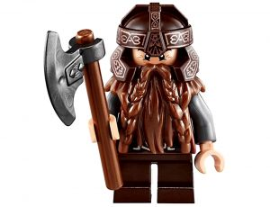 LEGO Figur Gimli von Der Herr der Ringe (lor013) Lord of Rings