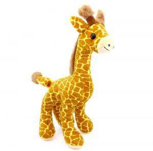 Schöne Plüsch Giraffe aus dem Maxi Ei Italien 2001 (Höhe 20cm)