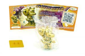 Goldene Marylinchen - die Sonderfigur der Geburtstagsparty