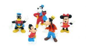 Goofy und seine Freunde Nr. 4. Topolino von 1995. 5 Figuren [Firma Nestle - Disney]