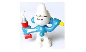 Zahnputzschlumpf Prophylaxe-Gruss [Gummischlümpfe]