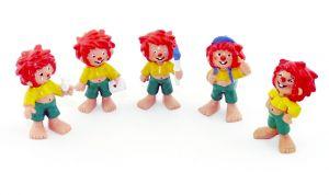 5 Pumuckl Figuren von BULLY BULLYLAND 1994 Buchagentur