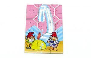 """Puzzlecke von den Badezimmerzwergen. Ecke """"Wasserhahn"""""""