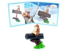 Dobson und Walter aus der Serie Ice Age 4 mit Beipackzettel