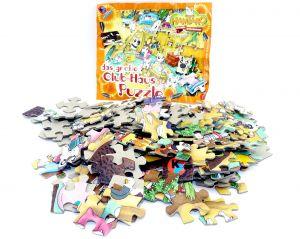 HAMTARO Maxi -Ei Puzzle mit Beipackzettel (Puzzle)