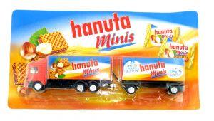 HANUTA minis Truck Modell LKW Sammeltruck OVP - Werbetruck