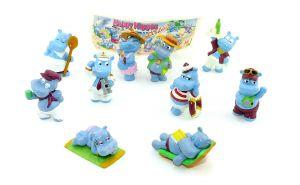 Satz Happy Hippos Holiday und 1 Beipackzettel (Sätze Europa)