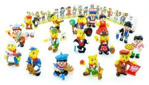 16 Haribo Figuren. Haribo EUROPA mit Sonderfigur der Belgier