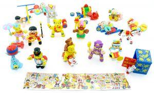 """Figurensatz von Haribo """"Zirkus Manege frei"""" von 1999 Beipackzettel [Firma Haribo]"""