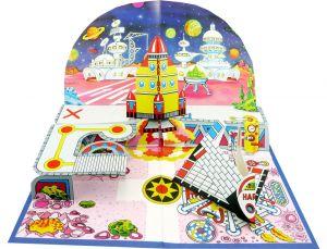 Haribo GLÜCKSBOX Space Diorama