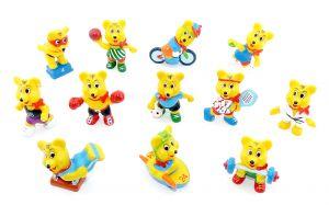 Haribo - Sportbären. 12 Figuren von HARIBO als Sportler - Olympiade