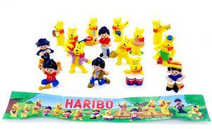 15 Haribo Goldbären Figuren mit Beipackzettel