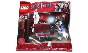 LEGO Harry Potter King's Cross Trolley mit Eule Hedwig im Polybag [Nummer 30110]