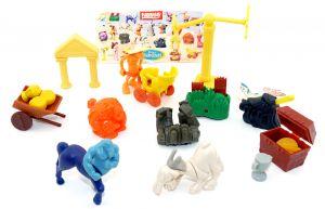 Spielzueg Satz von Hercules mit Beipackzettel (Firma Nestle)