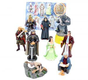 Alle 9 Figuren Herr der Ringe III mit einem BPZ (Komplettsätze)