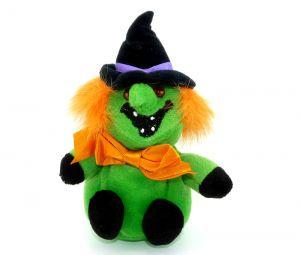 Maxi-Ei Plüschfigur Halloween Hexe (Lachsack)