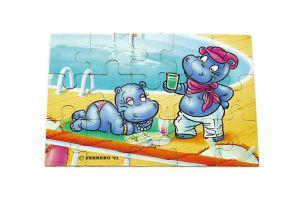 Puzzleecke von Happy Hippo Traumschiff ohne BPZ unten rechts