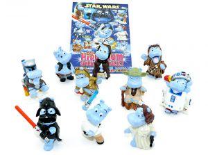 STAR WARS Figuren Set - Alle Figuren der Serie + 1 Beipackzettel (Hipperium)