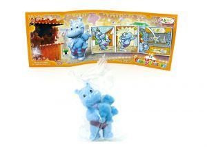 Happy Hippo mit neutralem Beipackzettel, Die Geburtstagsparty 40 Jahre