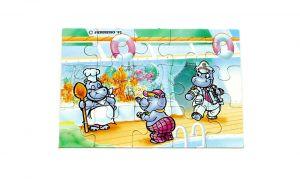 Puzzleecke von Happy Hippo Traumschiff ohne BPZ oben links