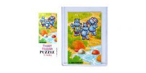 Puzzelecke mit BPZ von den Happy Hippos unten links