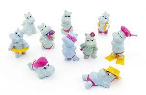 Die Happy Hippos von 1988, der erste Happy Hippo Satz