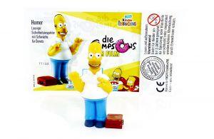 Homer Simpsons mit deutschen Beipackzettel (The Simpsons)