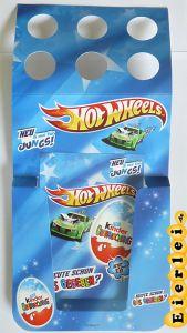 Werbebox zum Anhängen der Hot Wheels + 10 Flyer