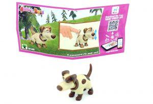 Hund mit Beipackzettel aus der Serie Mascha und der Bär 5 (SE308)