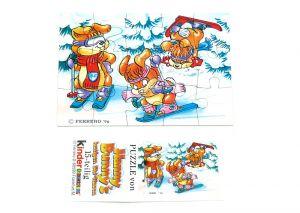 Hanny Bunny Puzzleecke unten links mit Beipackzettel