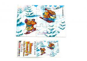 Hanny Bunny Puzzleecke oben rechts mit Beipackzettel
