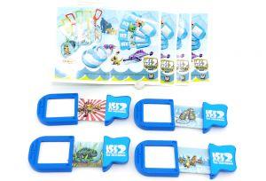 Satz Schiebebilder von ICE AGE 2 mit allen 4 Beipackzetteln